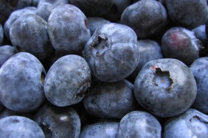 blueberries - eating well